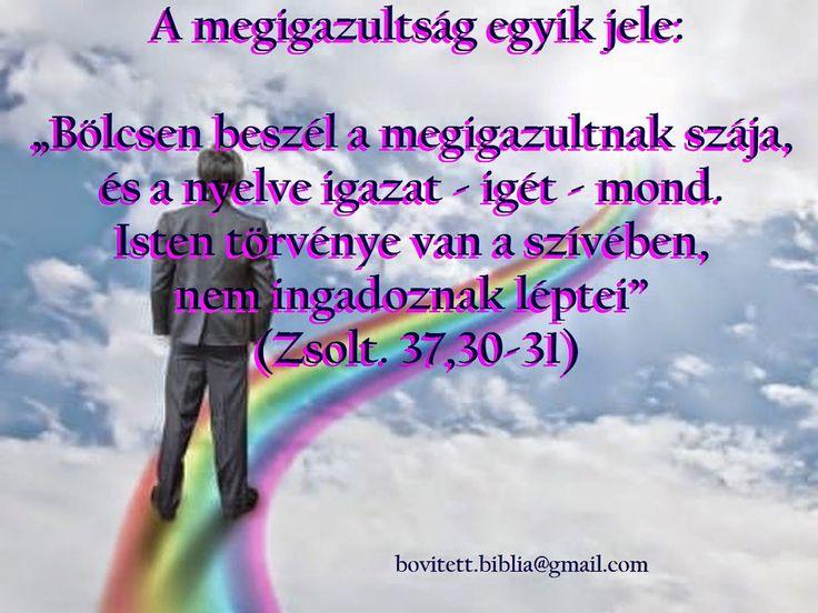 Isten törvénye van a szívében...