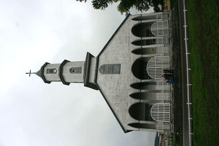 Iglesia de Dalcahue.Isla de Chiloé.