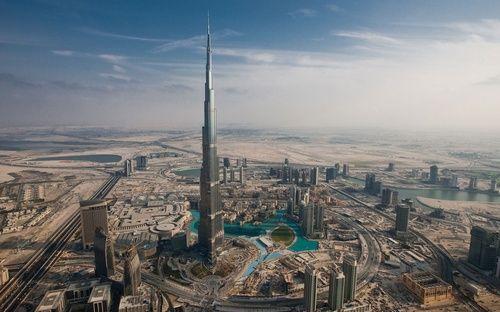 Burj Khalifa, Dubai, United Arab Emirates.