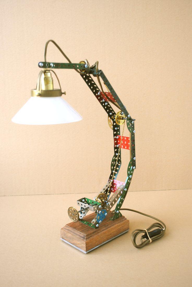 meccano lamp