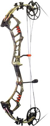 """PRECISION SHOOTING EQUIP 17 Bow Madness Epix Bow Only RH 29"""""""" 60# Mossy Oak Country, EA"""