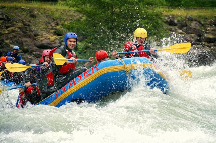 Рафтинг Coquihalla River, BC — Rafting the Coquihalla River in British Columbia with Mobify team (June, 2012)