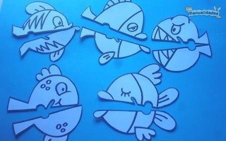 peces pinza prensa papel