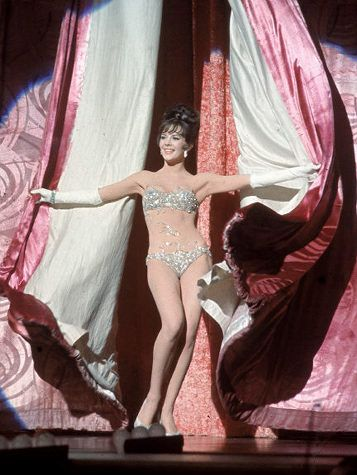 Gypsy *starring* Natalie Wood. She was my favorite and at her best in this wonderful movie. A MUST see.