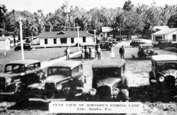 Johnson 39 s fishing camp lake apopka 1930s vintage for Fish camp lake eustis