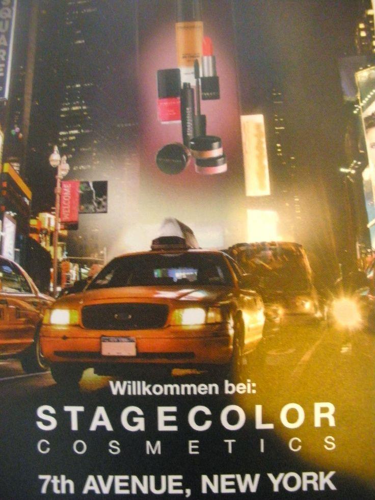 Mein Beauty & Lifestyle Blog für die Frau ab 40: STAGECOLOR COSMETICS DARK EYESHADOW QUARTET & STAG...