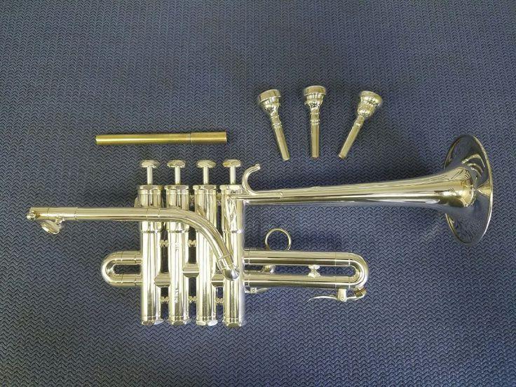 Schilke P5-4 Bb/A Piccolo Trumpet, Blackburn Mouthpipe, Double Case, Mouthpieces #Schilke
