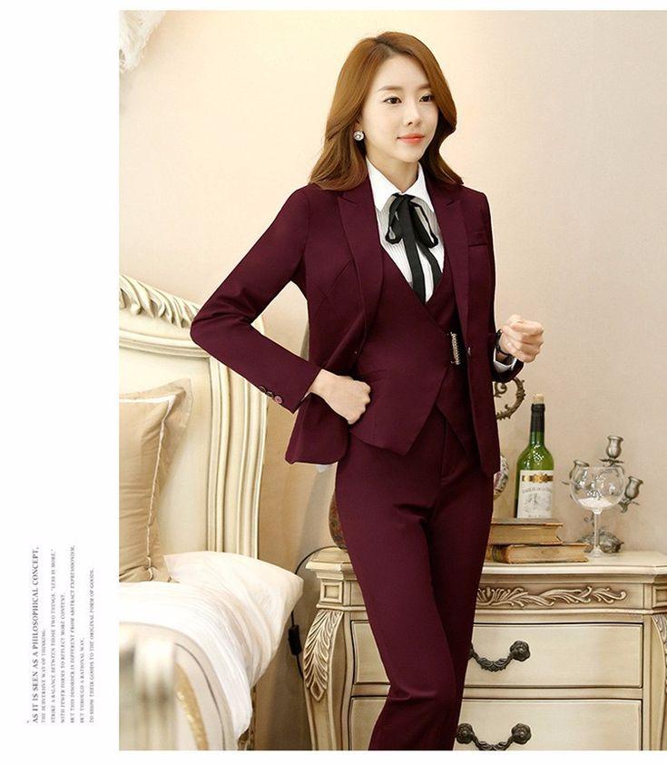 22 best Women Suits images on Pinterest | Woman suit, Office ...