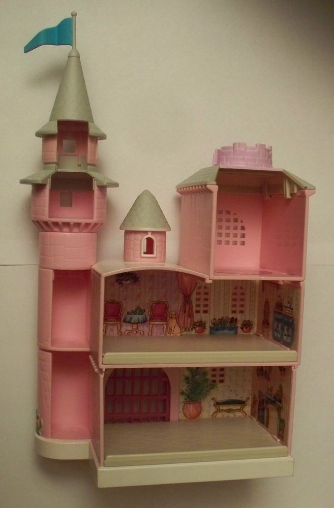 My Pretty Dollhouse Rainbow Castle In Excellent Used Condition 1995
