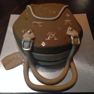 designer cake design a handbag cake decorating ideas