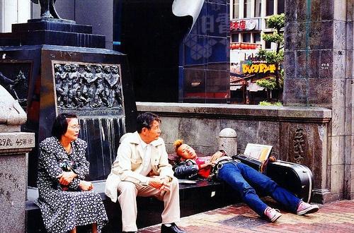 Osaka - Take a nap at Ebisu: Take A Nap, Photo