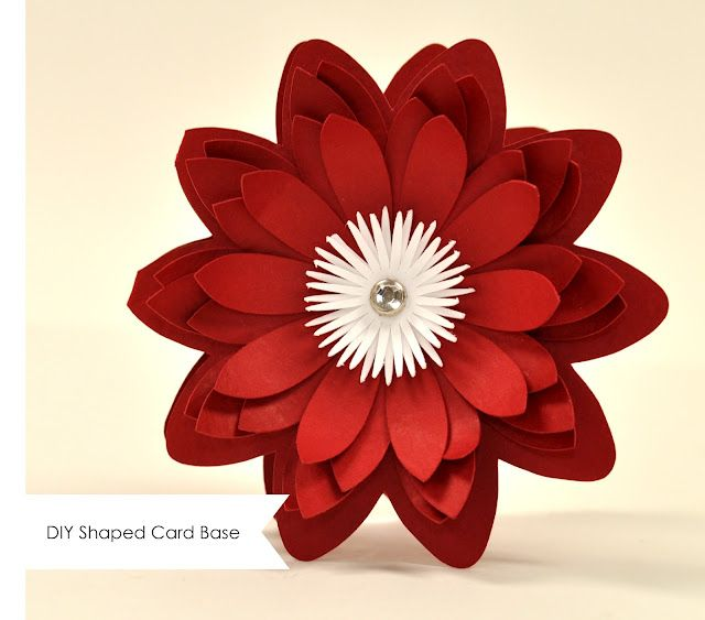 Silhouette Blog: Shaped card bases