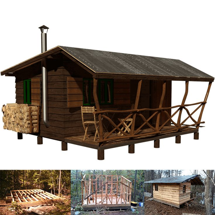 28 best cabin plans images on pinterest country homes for Guest house construction cost