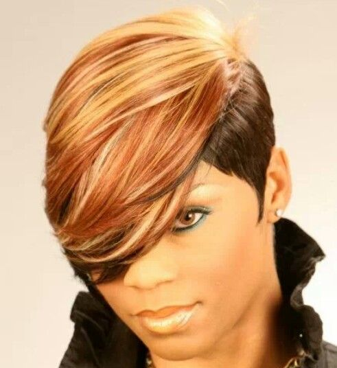 112 best images about Short weave styles on Pinterest | Models, Short hair styles and Short weave