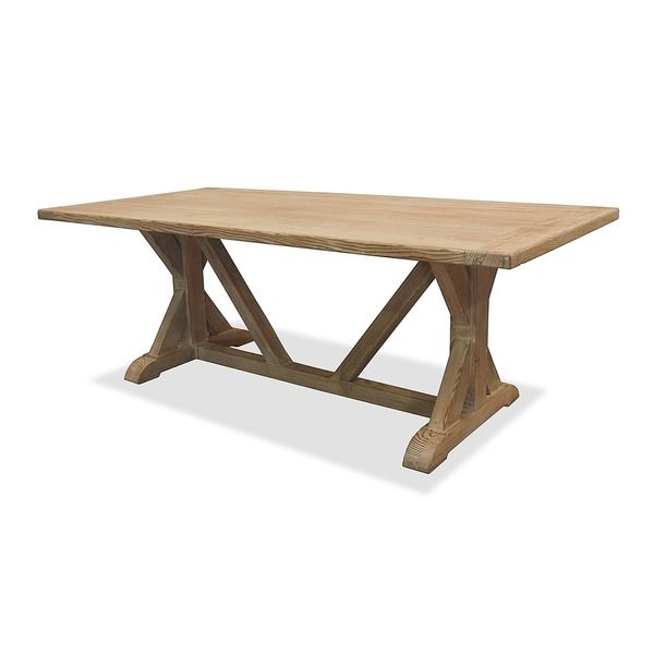 La Phillippe Reclaimed Wood Rectangular Dining Table By