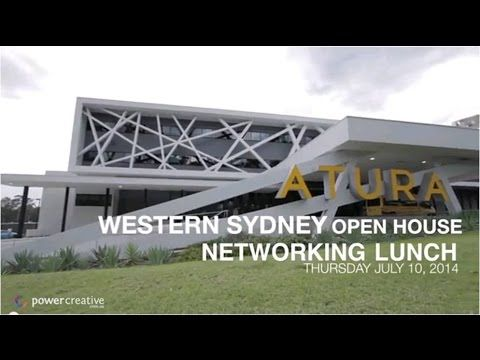 90sec Event Video - Western Sydney Open House Networking, July 10, 2014 | powercreative.com.au