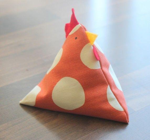 Little Chicken Bean Bags | Gluesticks