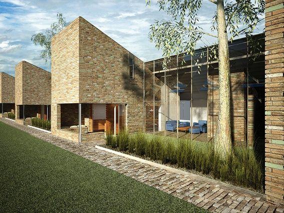 16 - Villa - Think Brick proposal by Neeson Murcutt.