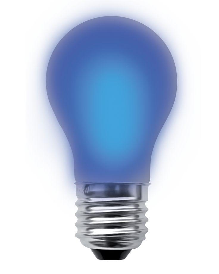Perfect LED lamp W E filament Segula dimbaar blauw fel