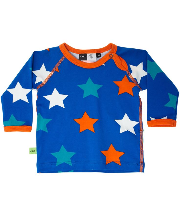 Molo famous star printed baby t-shirt #emilea