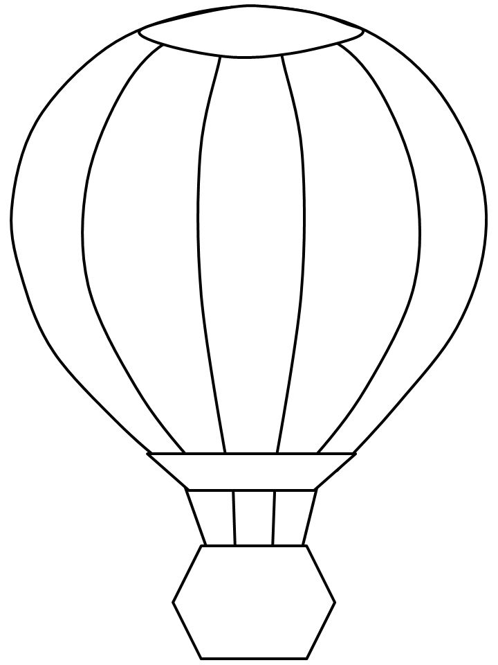template for construction paper hot air balloons   Crafts ...
