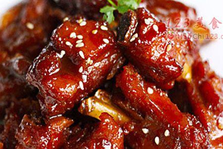 鎮江醋排骨 Black Vinegar Pork Ribs