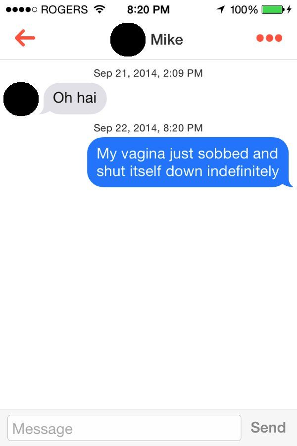 15 surefire ways to ruin a Tinder opening