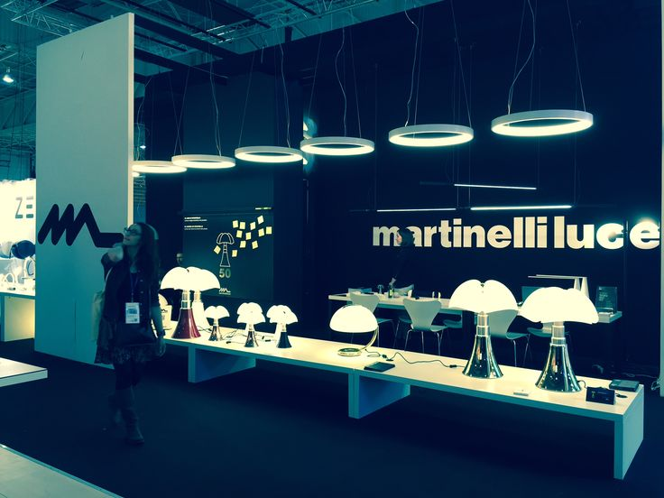 Martinelli Luce's stand at M&O | Photo by Emiliana Martinelli http://www.martinelliluce.it/comunicazione-en/index/76