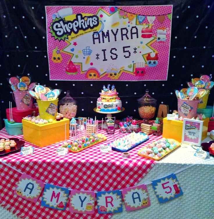 shopkins party + birthday
