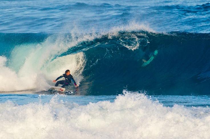 Surfing in São Miguel, Azores