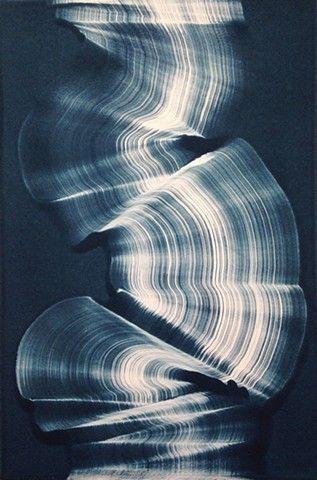 Just liked this Pin: AMAZING monoprints on this page gelatin plate print original Kristin Breiseth KB Breiseth abstract blue http://ift.tt/1npHelr