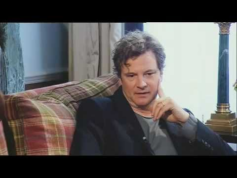 Colin Firth at Lorraine Kelly, taliking about Dorian Gray...