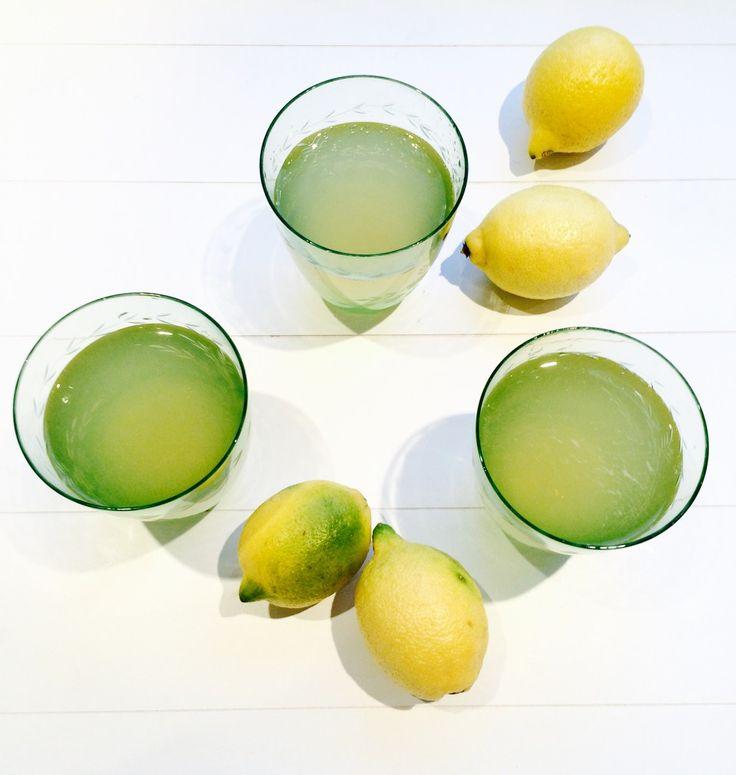je eigen citroensiroop maken