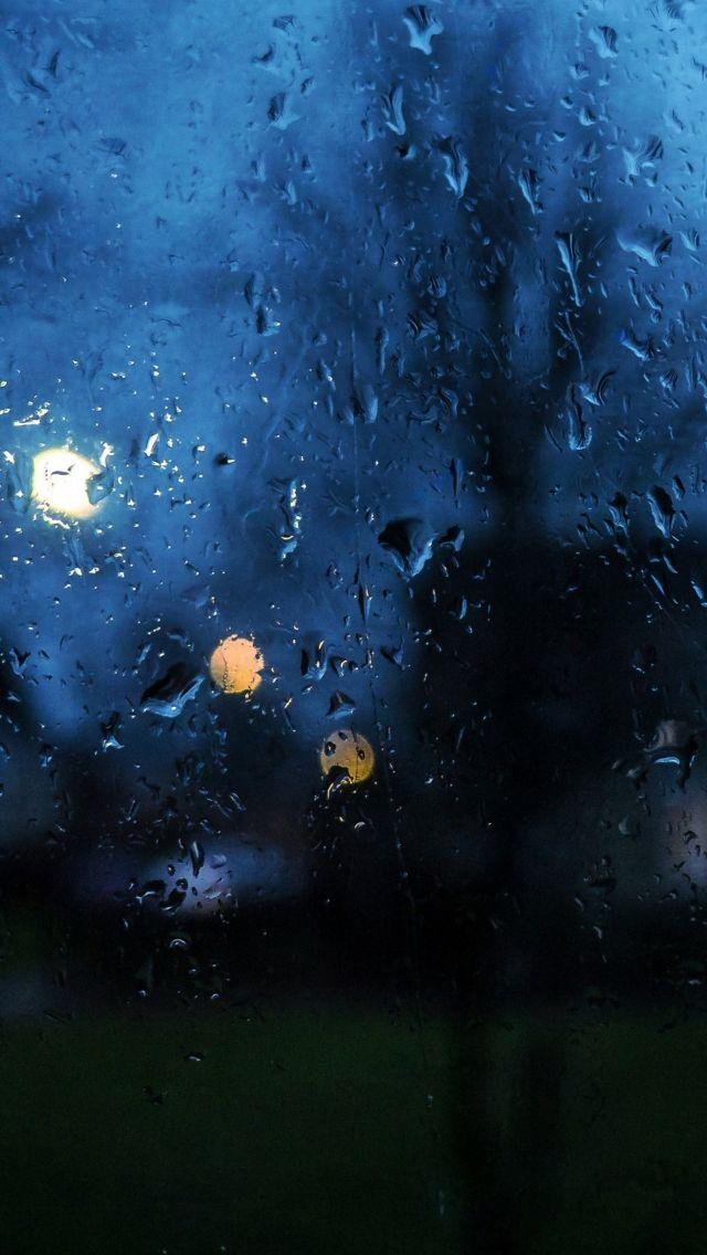 Download Free Hd Wallpaper From Above Link Rain Night Blue Window Drop Iphone Wallpaper Rain Rainy Day Wallpaper Rainy Window Rainy night hd wallpaper download