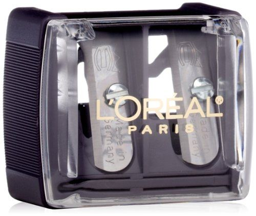 L'Oreal's #Dual Sharpener is #perfect for keeping all your pencils in shape for flawless application. Sharpens both traditional liners and jumbo pencils.