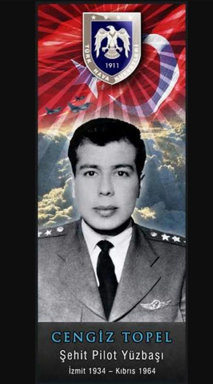 Cengiz Topel/Şehit Pilot/Kıbrıs/1964
