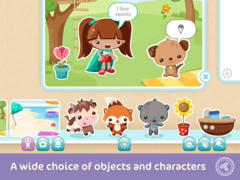Build your own stories w/ Toonia Storymaker - a 5-star creativity #app for kids! #topkidsapps @Toonia