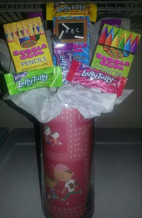 Back to school/teacher candy bouquet. Brandi's Candy Bouquets