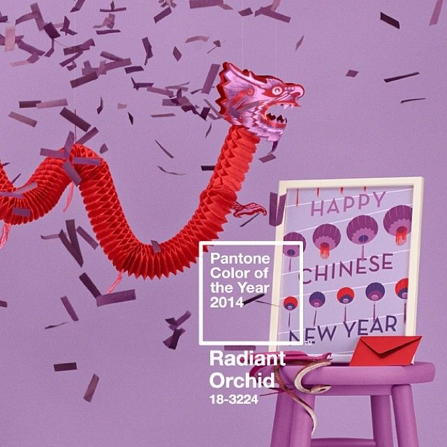 pantone color of the year 2014 radiant orchid chinese new year