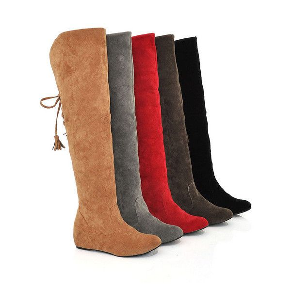 Classical fall winter high snow boots, highlight thick fur very warm and comfortable, knee-high perfect show you beautiful leg, increased inside can length your leg, make your outstanding in any occas