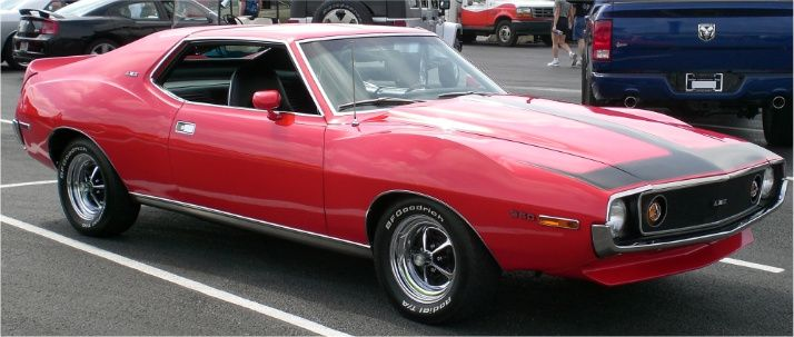 When an AMX became a top of the line Javelin with a rear seat. :
