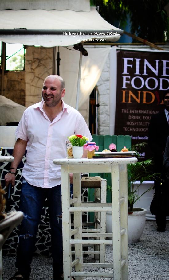 My Tasty Curry: Breakfast with George Colambaris Masterchef Australia at Olive Beach New Delhi
