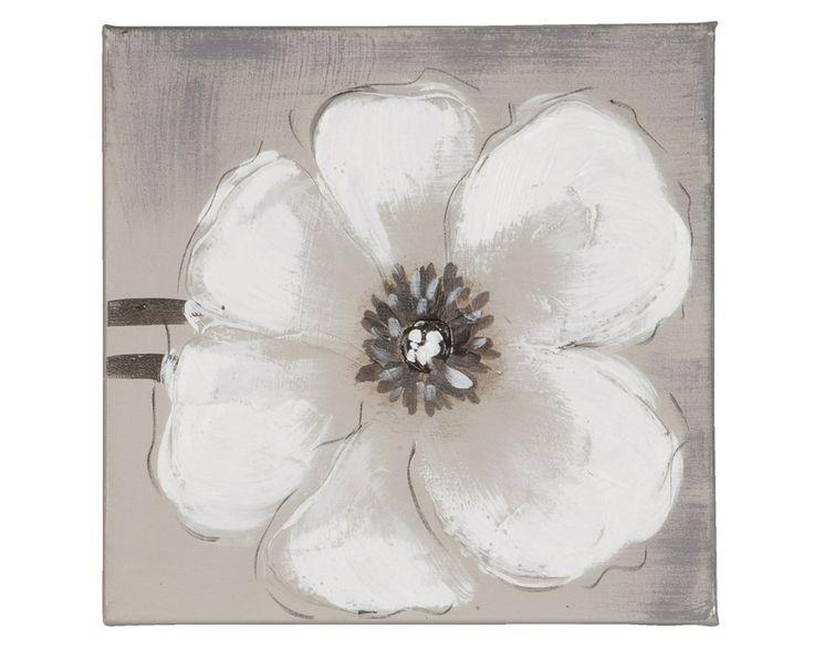 Olieverfschilderij bloem