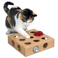 Smart <b>Cat</b> Peek A Prize <b>Toy</b> Box W/2 <b>Toys</b> | lazer cut | Кошачий узор ...