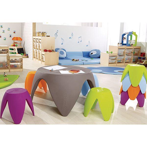 Demco.com   Wesco® Flora Plastic Chairs
