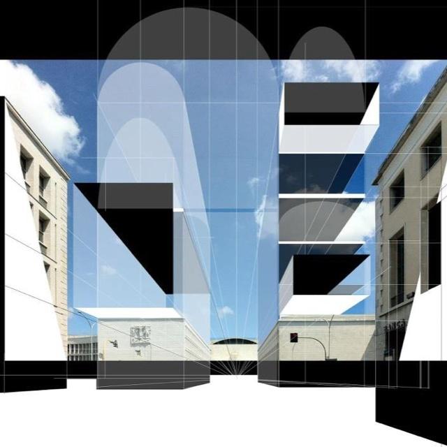 A new sketch Beniamino Servino's Architect on original snapshot picture of na3-studio di architettura.Thanks Beniamino!