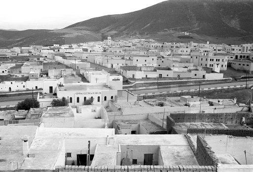 idi Ifni.- Vista general del barrio moro de esta ciudad.- (Sin fecha, 1957-58) EFE/jt