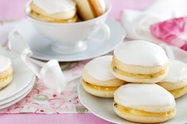 These delicate little cakes are perfect for afternoon teas and baby showers.
