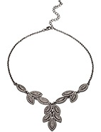 Angelique Multi Leaf Drop necklace  #DavidJones #Fashion #Angelique #Designer