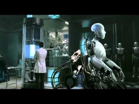 I Robot Trailer Deutsch german - YouTube